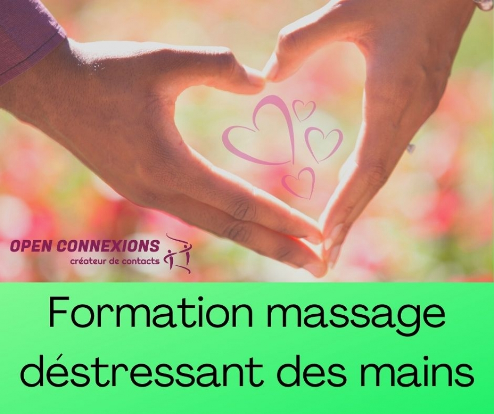 FORMATION MASSAGE RELAXANT DES MAINS