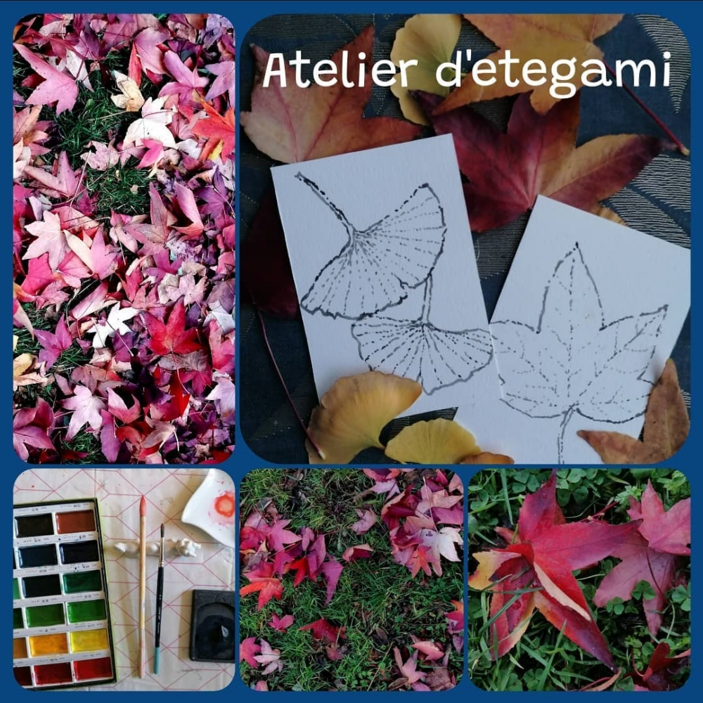 Atelier d'etegami traditionnel - en ligne