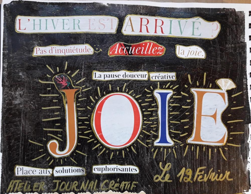 Cultiver la joie avec le journal créatif