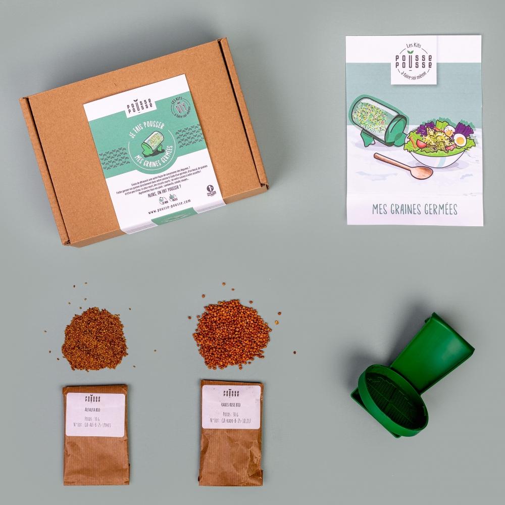 Kit DIY Graines germées