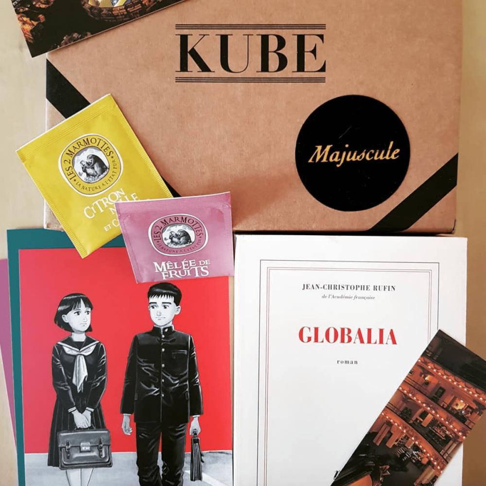 Box Majuscule Livres - Abonnement 1 mois