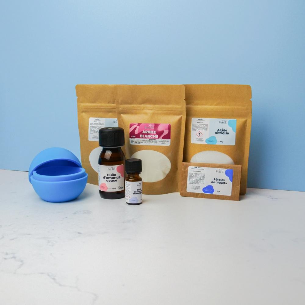 Kit cosmétique maison - Bombe de bain