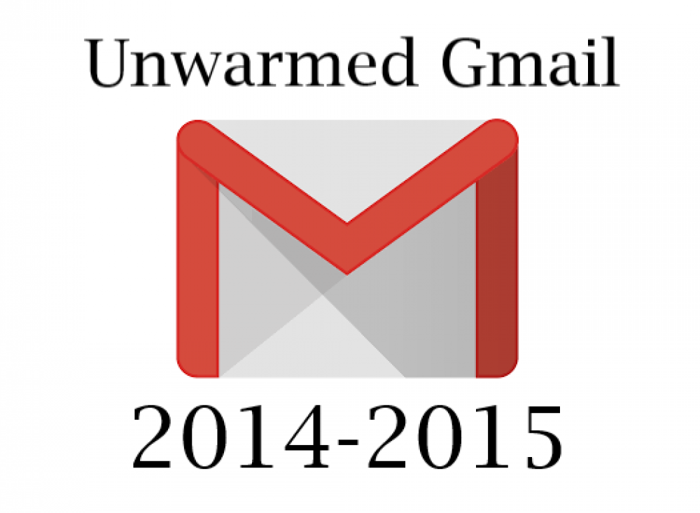 Unwarmed Aged Gmail