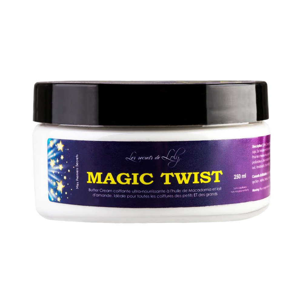 Beurre capillaire Magic Twist - Tube de 250 ML