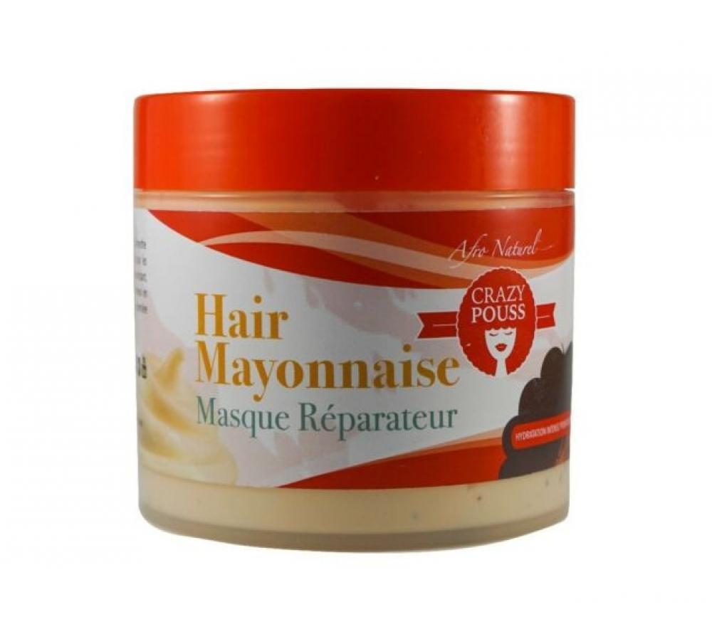 Afro Natural - Crazy Pouss -Hair Mayonnaise Masque Reparateur