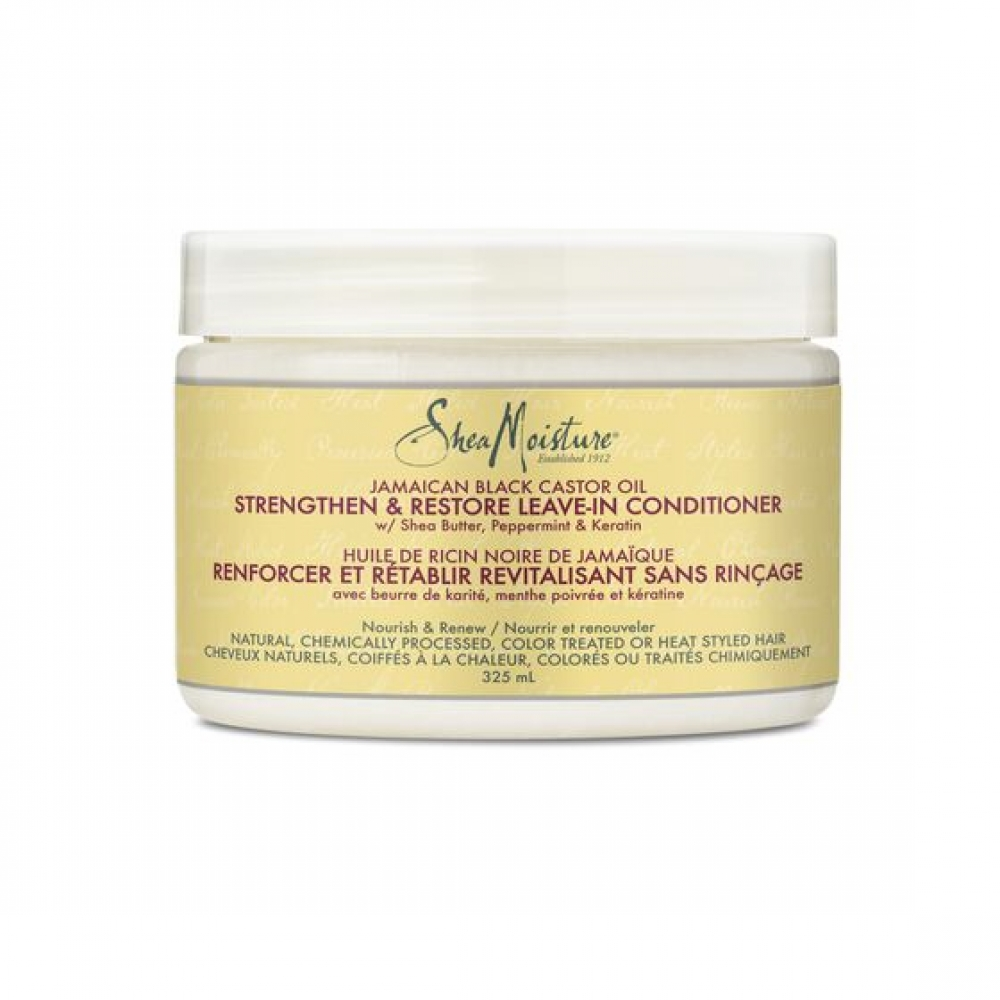 Leave-In Conditioner -Jamaican Black Castor Oil Strengthen & Restore - Shea Moisture