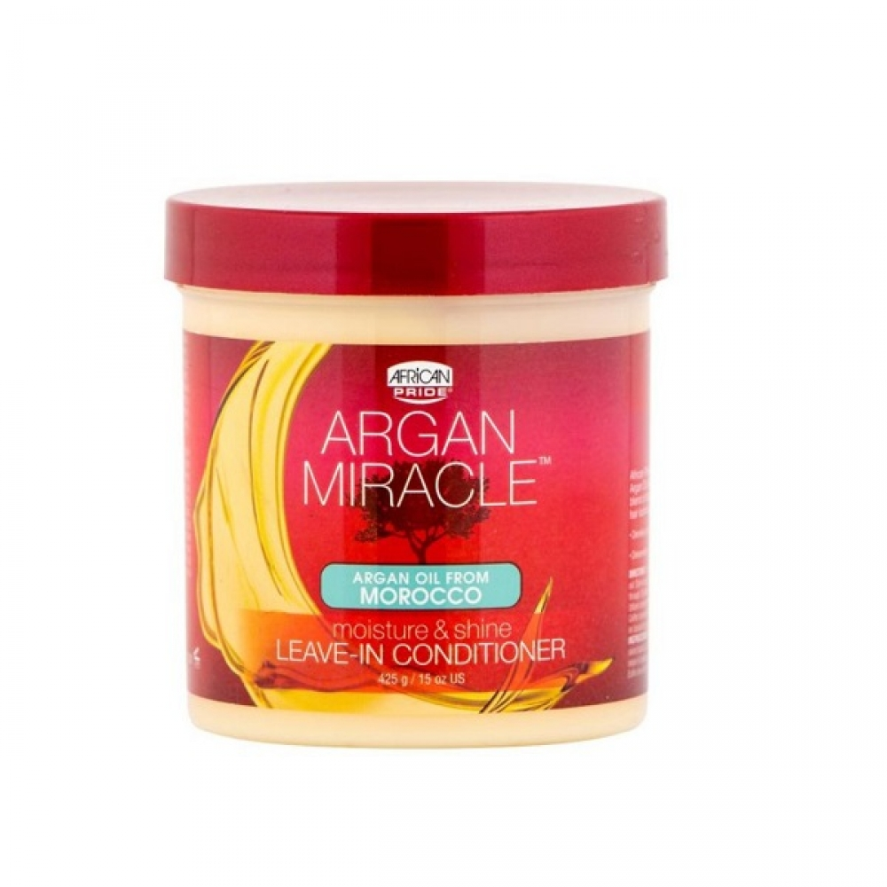 African Pride Argan Miracle Leave In Conditioner - Démêlant Sans Rinçage