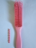 Zawema - Magic Brush - Brosse démêlante cheveux texturés - Rose / Livraison offerte