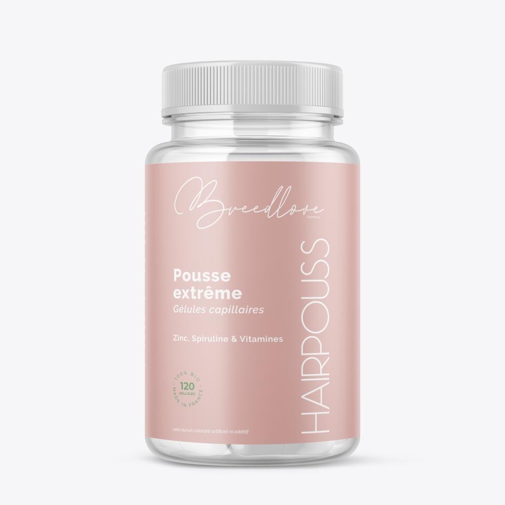 Complément alimentaire  -  120 gélules - Breedlove care cosmetics