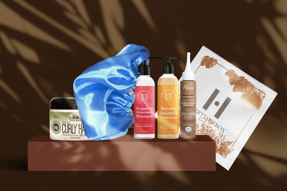 Box capillaire cheveux bouclés et frisés - Moma Nature