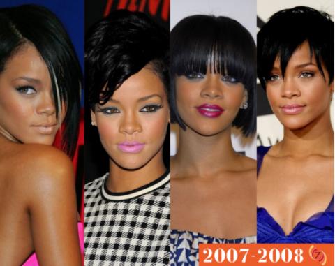 zawema Rihanna cheveux 2007