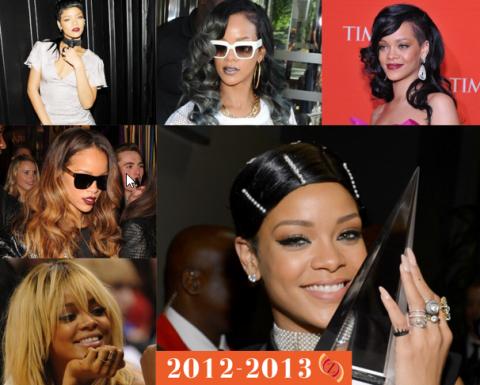 zawema Rihanna cheveux 2012