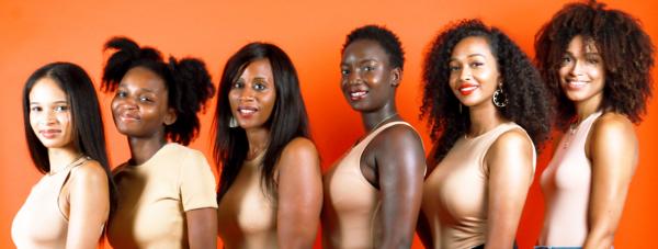 zawema groupe femmes cheveux bouclés frisés crépus