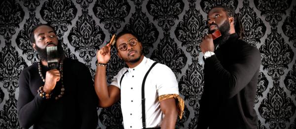 zawema groupe hommes cheveux crépus accessoires