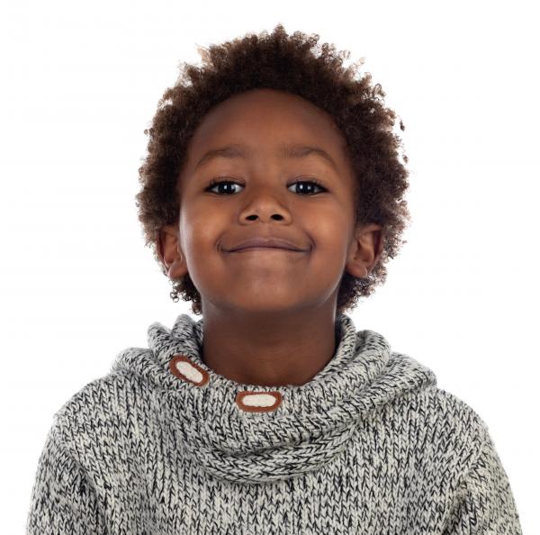 zawema enfant garçon cheveux crépus