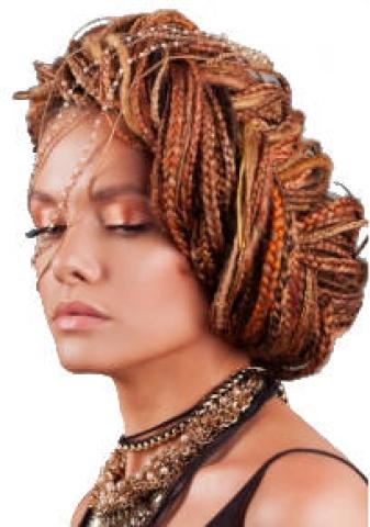 femme cheveux braides tresses