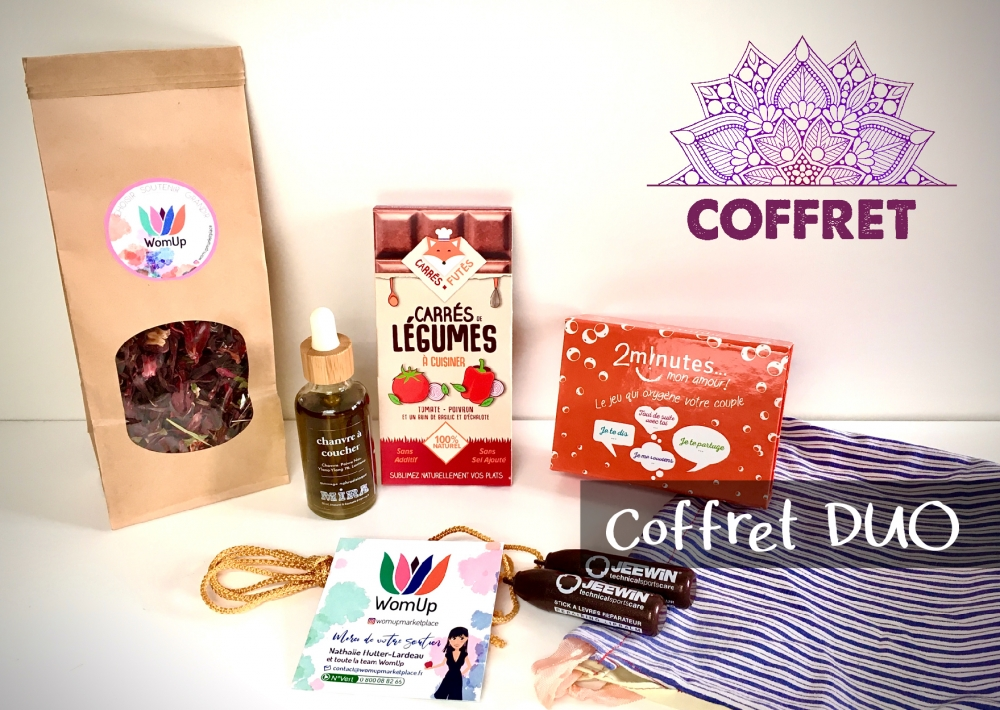 Coffret DUO WomUp
