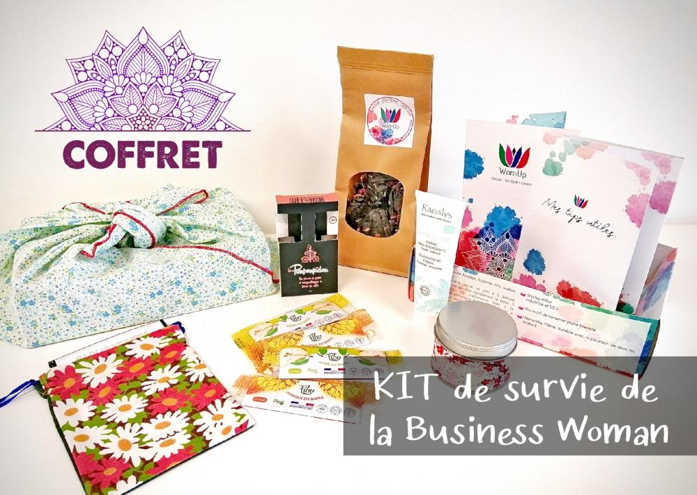 Coffret : KIT de survie de la Business Woman WomUp