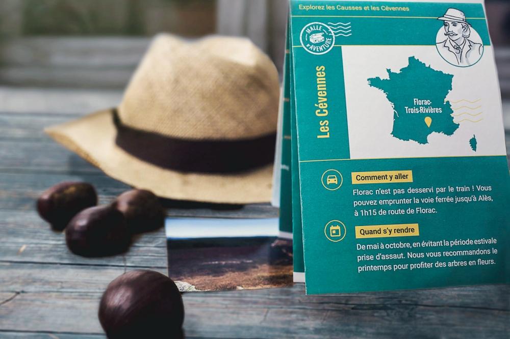 Box culturelle pour les aventuriers curieux - abonnement 3 mois