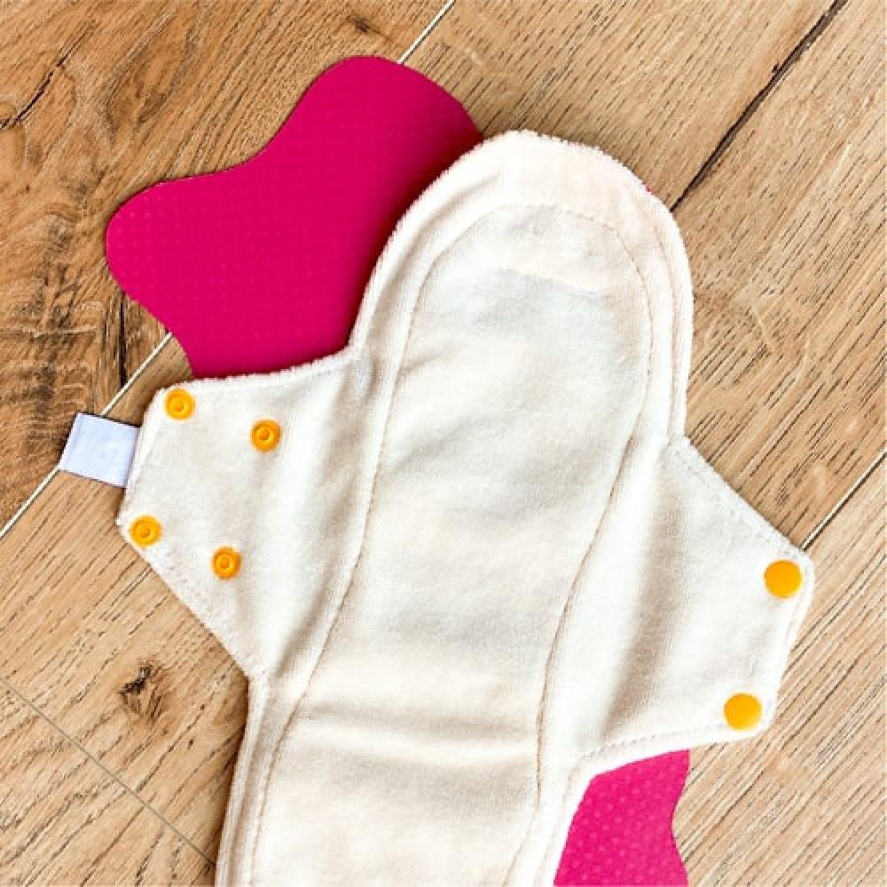 Lot de 5 serviettes hygiéniques lavables NUIT LA WEEK'UP