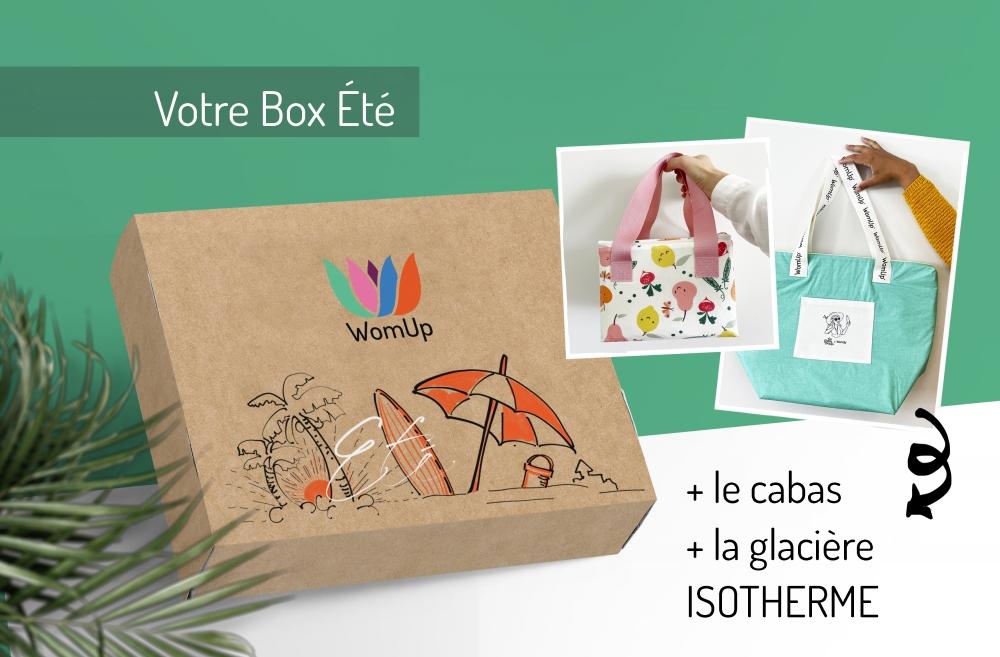 La Box été + le sac ISOTHERME et la glacière WomUp