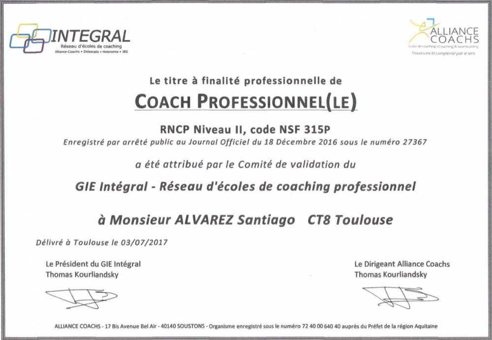 "SEANCE DECOUVERTE EXECUTIVE COACHING GRATUITE - Programme : ""Être Leader\"" (1h)"