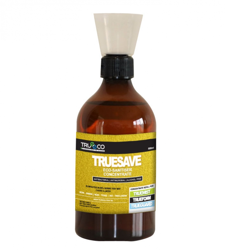 CARTON OF 20: TRUESAVE CONCENTRATE 500ML (Creates 10 Litres READY2USE)