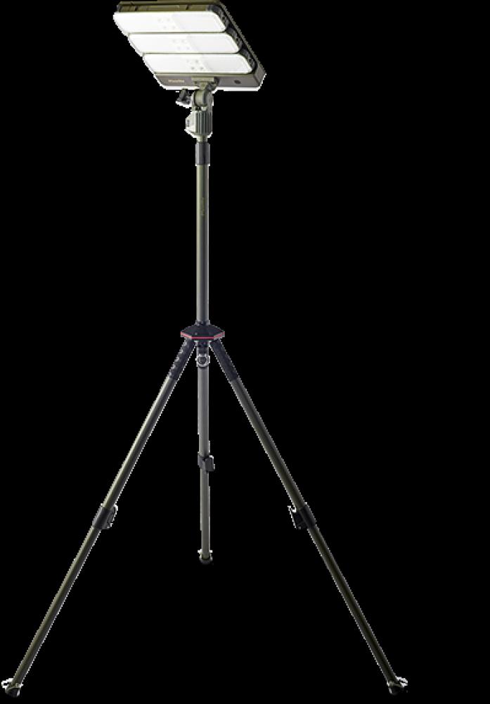 LED Solar 25W Portable Work/Camping Modular Light - PLS-WL25W-6K