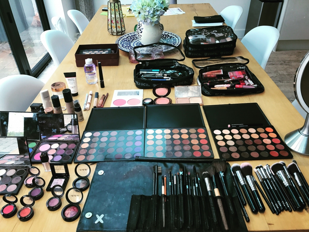 Makeup artist and stylist