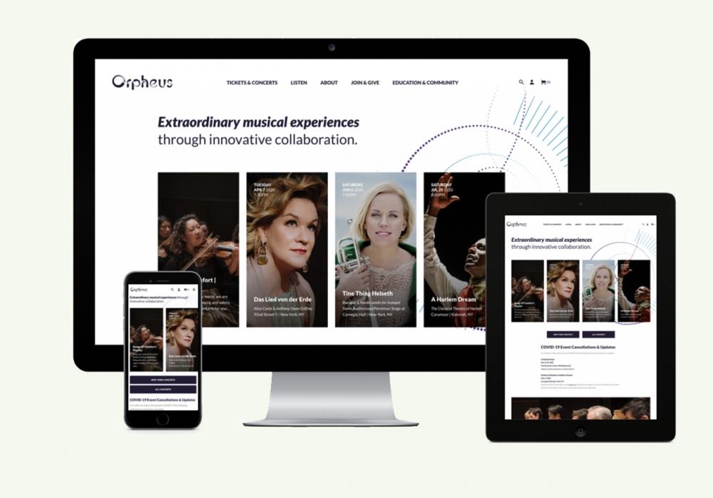 Eyekiller specialises in designing awards winning Spektrix websites