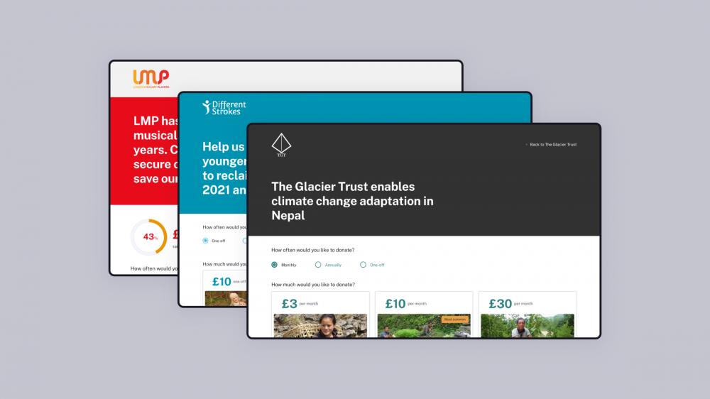 DonateFlow - Ten4's free online donation platform