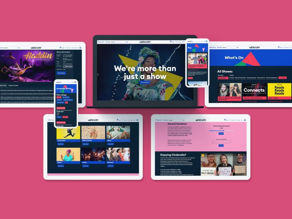 Splitpixel - Theatre and Performing Arts Websites