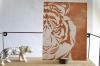 Tigre cuivré scintillant (003)