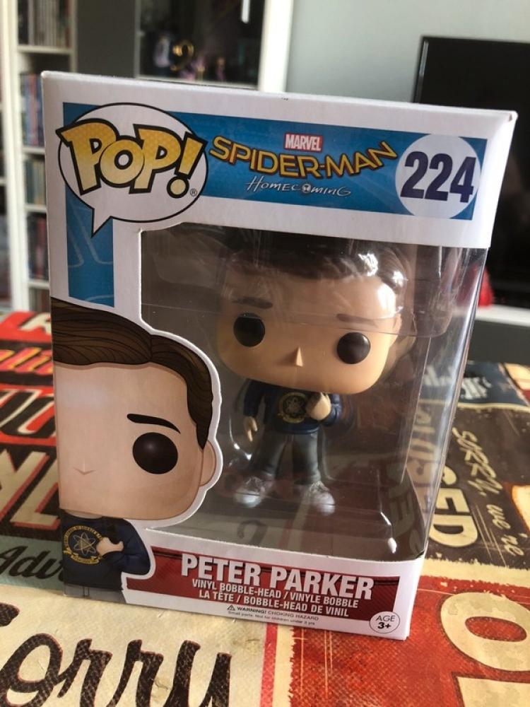 Funko pop Peter Parker / Homecoming N°224