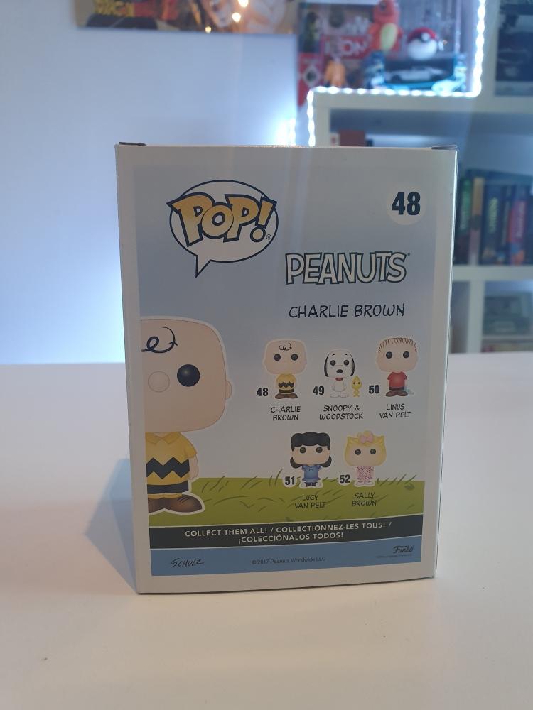 Funko POP Peanuts Charlie Brown 48