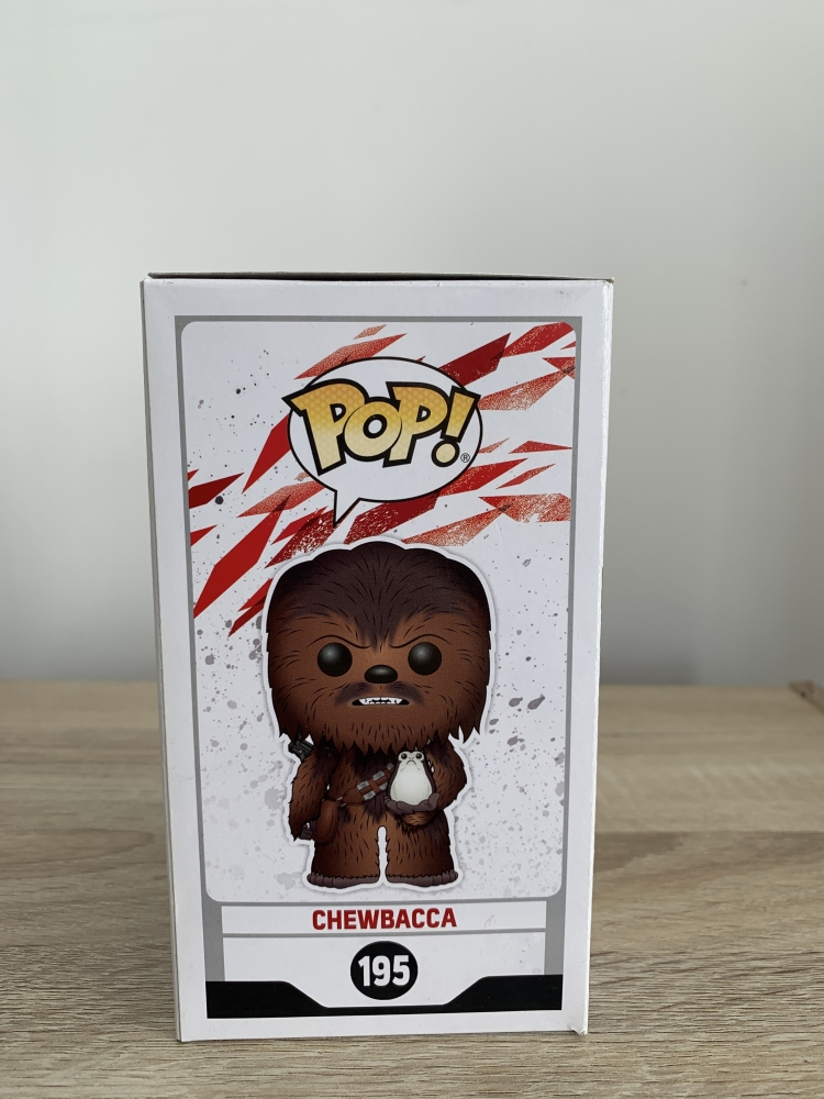 Chewbacca flocked