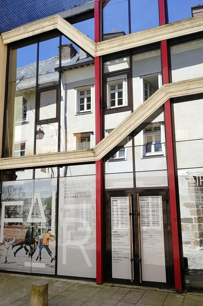CCN de Rennes et de Bretagne / Petit studio - St Melaine