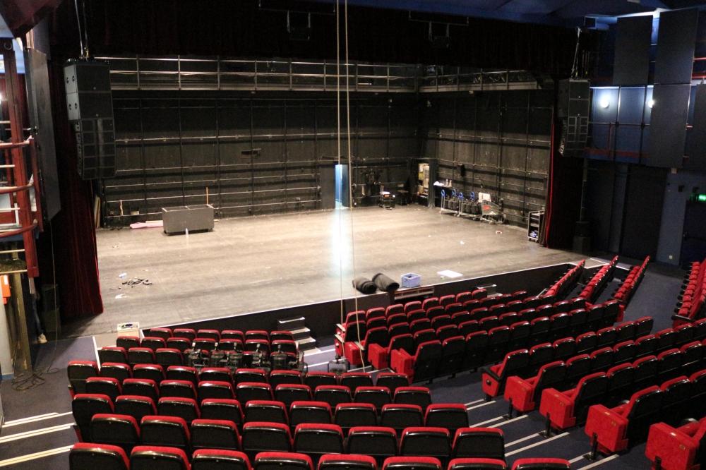 Théâtre Louis Aragon, scène conventionnée d'intérêt national art et création - danse de Tremblay-en-France / plateau