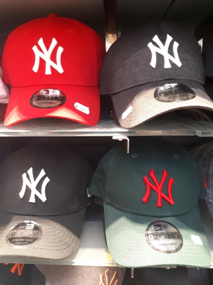 Casquettes New York