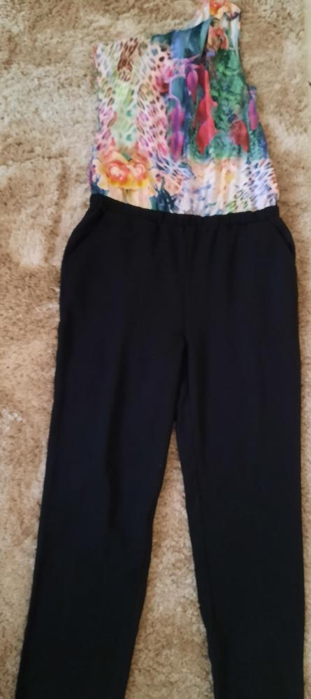 combinaison pantalon noir morgan