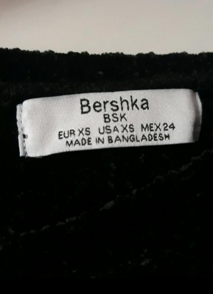 Pull velours Bershka