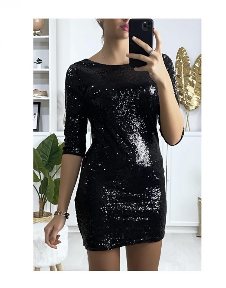 Robe noir Anais