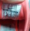 Nike Air Huarache orange gris bleu taille 37.5