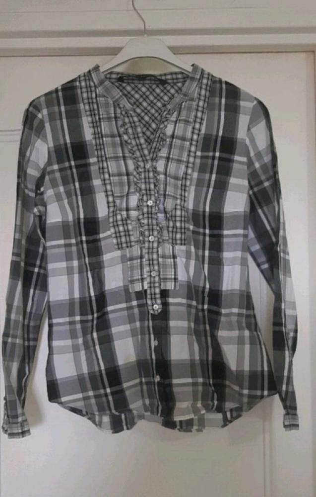 Chemise Zara à carreau