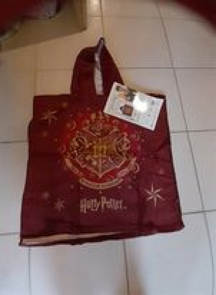 poncho de bain harry potter