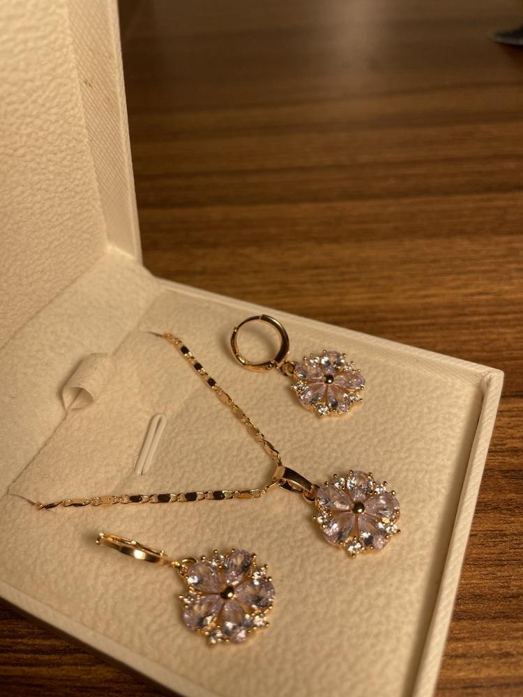 Ensemble bijoux plaqué Or