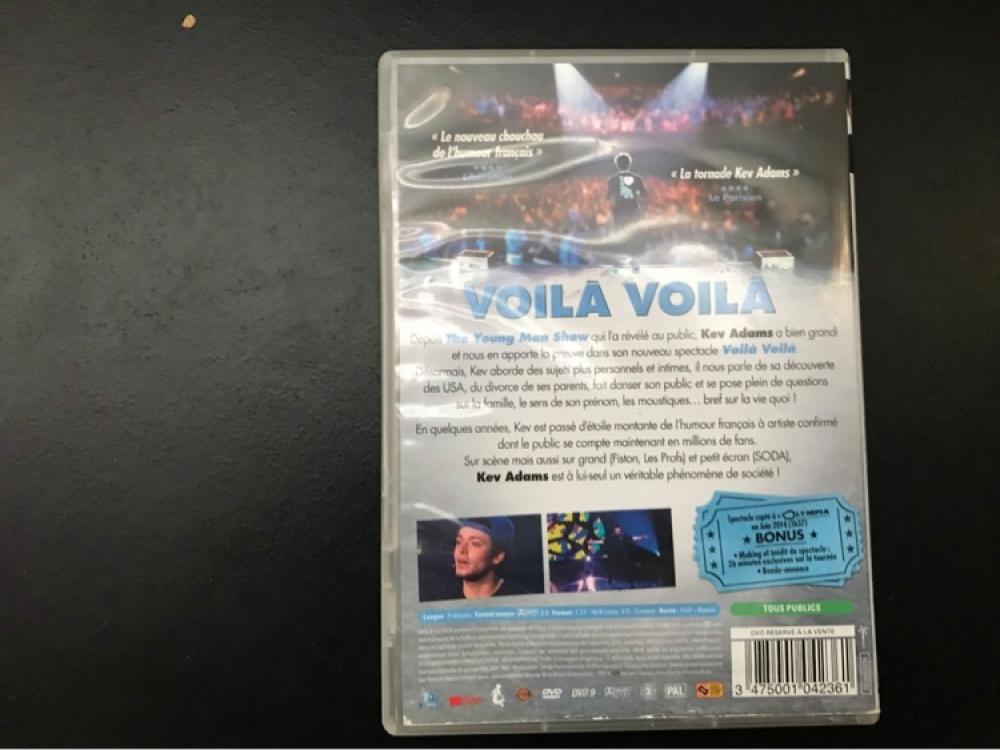DVD Voilà Voilà