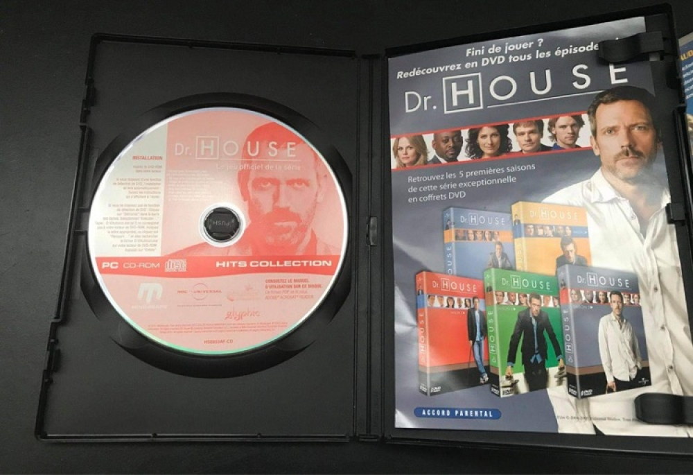 DVD Jeu PC Dr.House