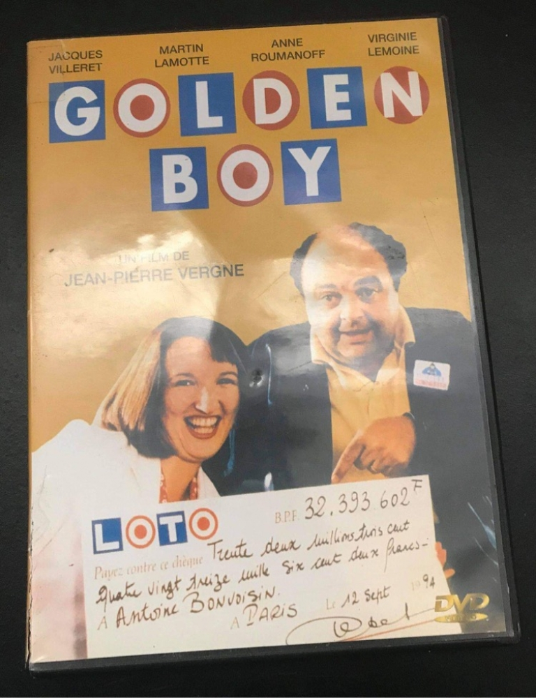DVD Golden Boy
