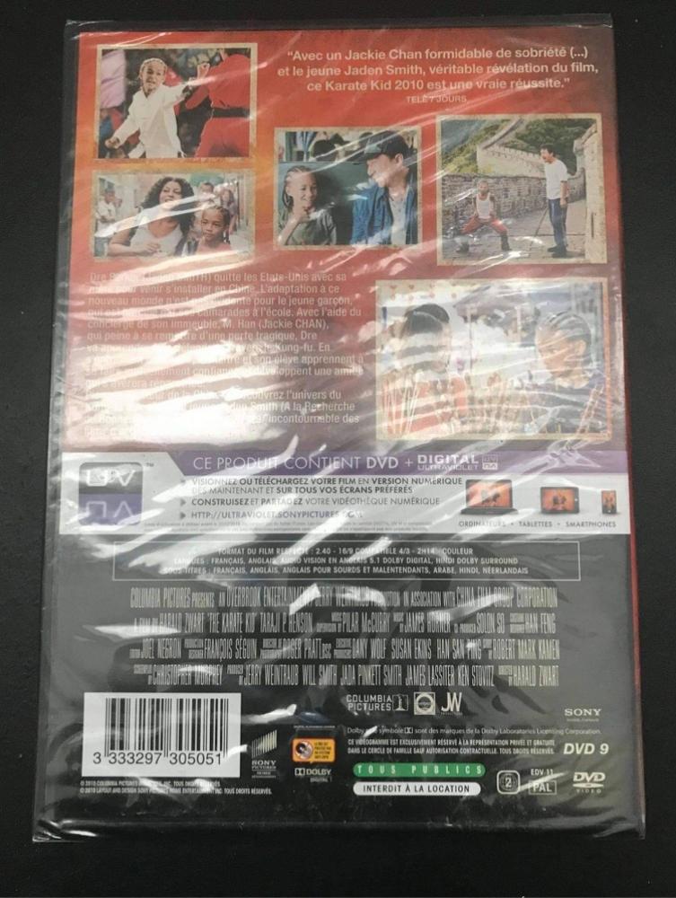 DVD Karaté Kid